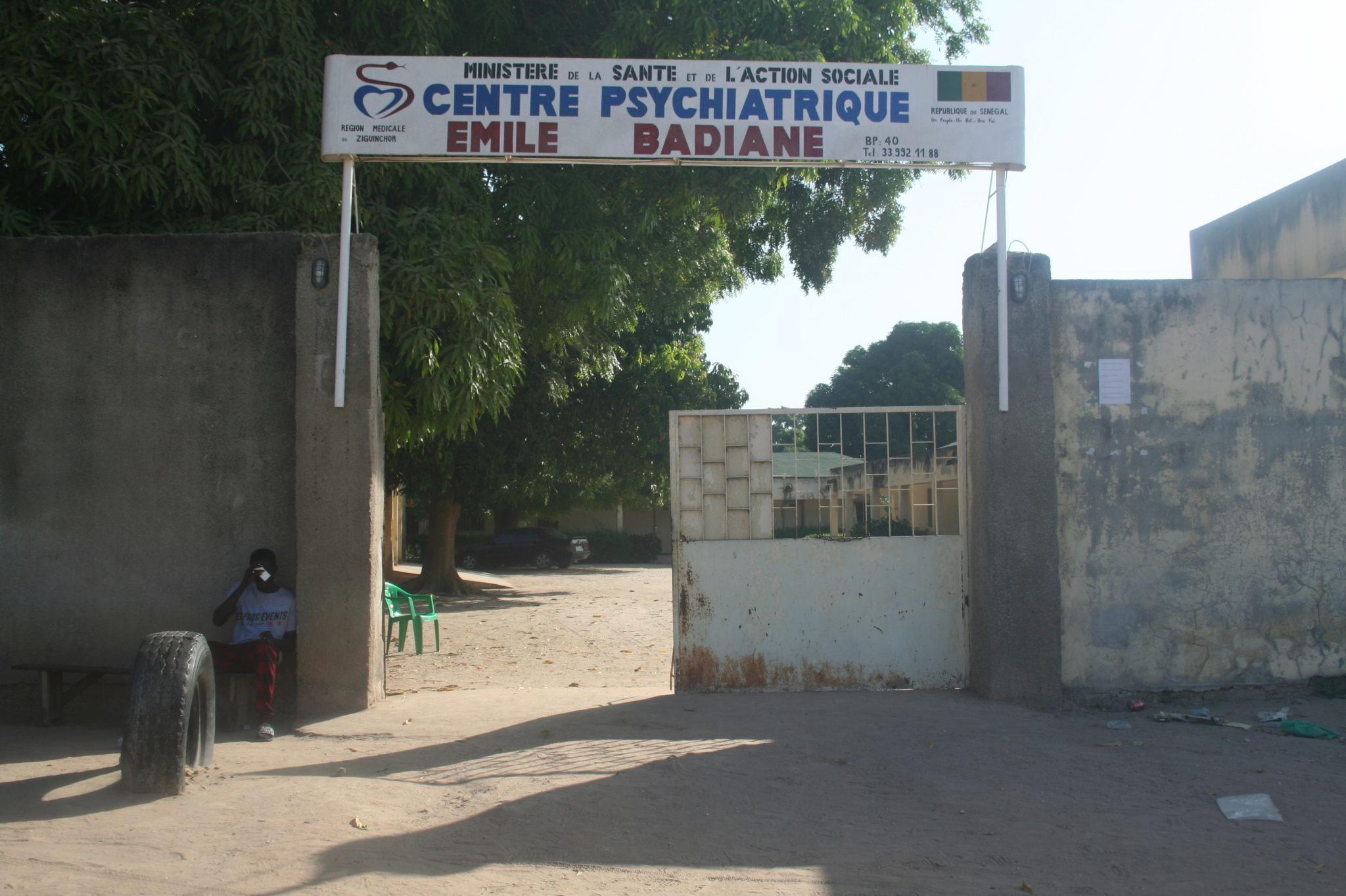 Centre Salut Mental Émile Badiane de Ziguinchor
